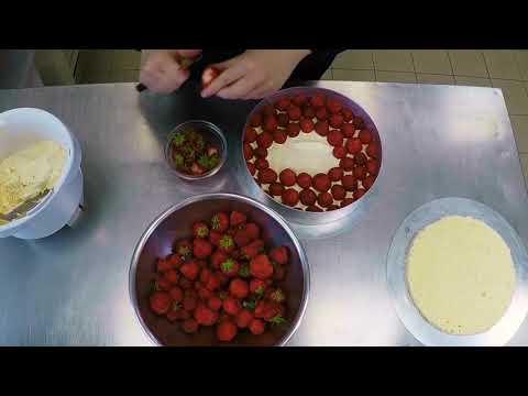 Torten machen mit Grips - Erdbeer Buttercreme